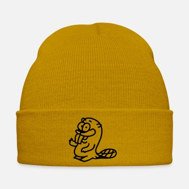 Otter Biber - line - Winter Hat