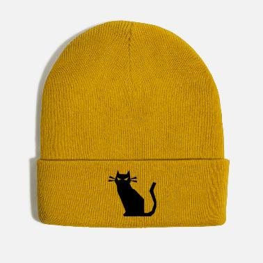 Sharp sharp cat evil - Winter Hat
