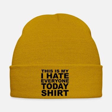 Rejection This is my i hate everyone today shirt 003 - Winter Hat