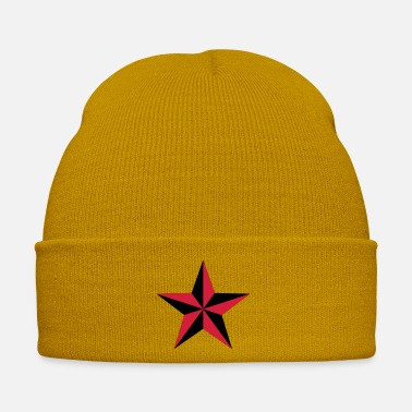 Nautical nautical star 2 color - Winter Hat