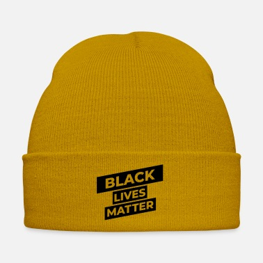 Politics black lives matter - Winter Hat