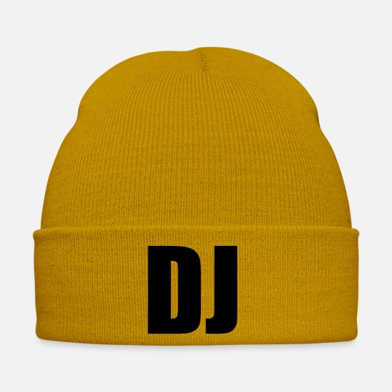 Djs Caps & Hats - DJ - Winter Hat mustard yellow