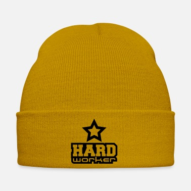 Worker Hard Worker Star - Cappello invernale