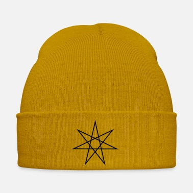Wicca Elven Star, Heptagram, Fairy Star, Pagan, Wicca - Winter Hat