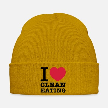 Clean What It Is i love clean eating - Winter Hat