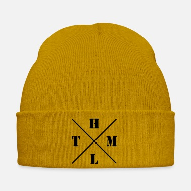 Html HTML logo - Winter Hat