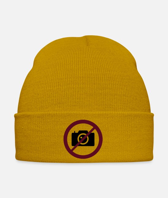 Photography Caps & Hats - No Photo - Winter Hat mustard yellow