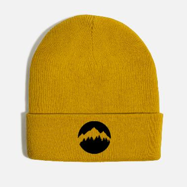 Forest Forest and Mountains - Winter Hat