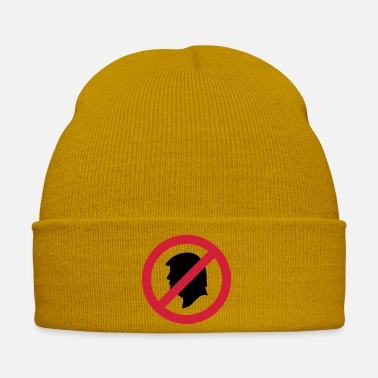 Prohibitory Sign Donald Trump banned prohibition sign Anti USA 2020 - Winter Hat
