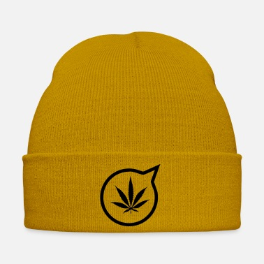 Pothead Massanger Weed - Winter Hat