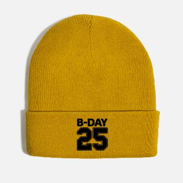 Bday Shirt number 25 / 25th birthday Bday jersey number - Winter Hat