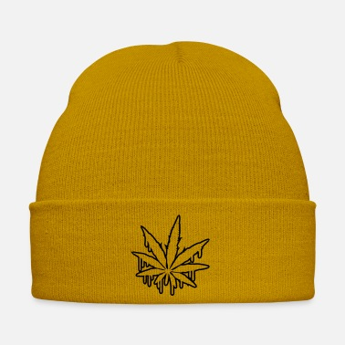 Feuille Weed Graffiti Design - Bonnet