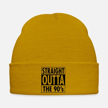 Frases Straight Outta The 90's - Cool Birthday Gift - Gorro de invierno