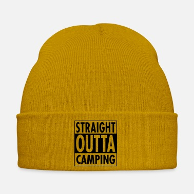 Sun Straight Outta Camping - Winter Hat