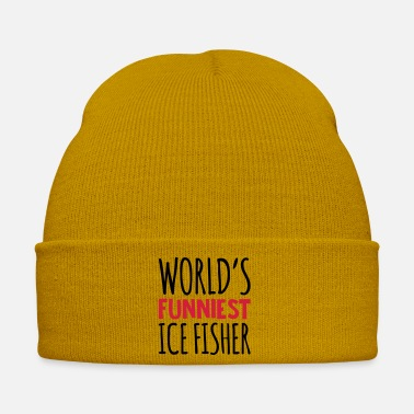 Ice Floe worlds funniest ice fisher - Winter Hat
