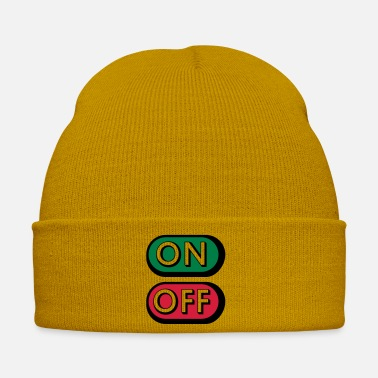 Off On Off Buttons - Bonnet