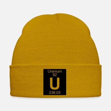 Uranium Uranium (U) (element 92) - Winter Hat