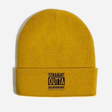 Relationship Straight Outta Relationship - Winter Hat
