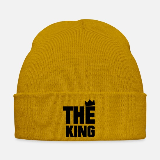 Love Caps & Hats - The King - Winter Hat mustard yellow