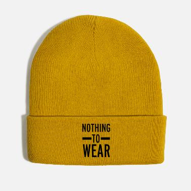 Wear Nothing To Wear - Winter Hat