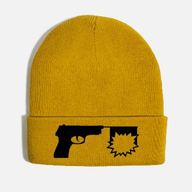 Pistols A pistol with a flag - Winter Hat