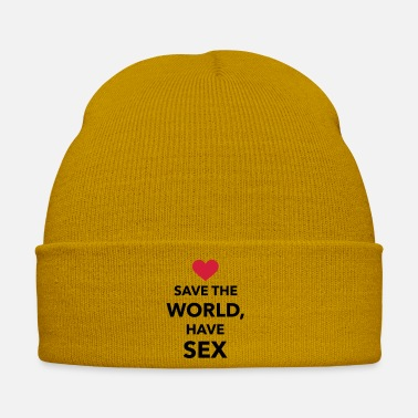 Save The World Save the world have Sex - Winter Hat