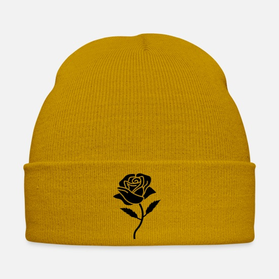 Love Caps & Hats - rose - Winter Hat mustard yellow