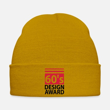 Award 60s design award - birthday - Winter Hat