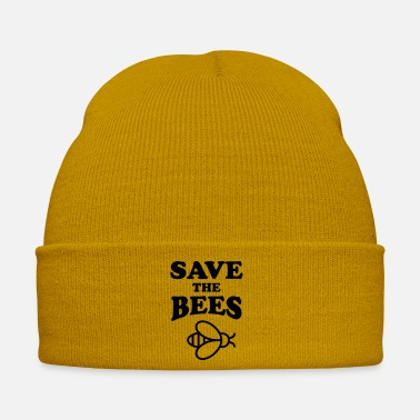 Slogan Save The Bees - Winter Hat