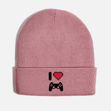 Video Gamer - geek - video games - i love video games - Winter Hat