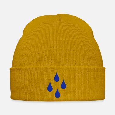 Weather Raindrops - Rain - Weather - Winter Hat
