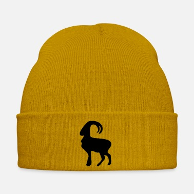 Ungulate animal capricorn ibex - Winter Hat