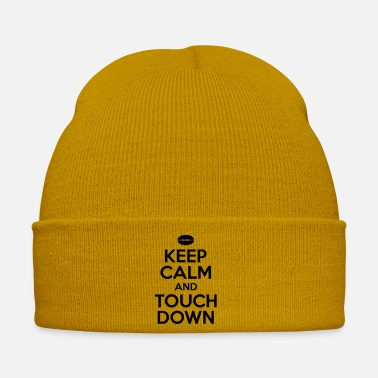 Wide Receiver Keep calm and touch down - Cappello invernale