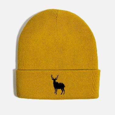 Forest Deer and Forest - Winter Hat