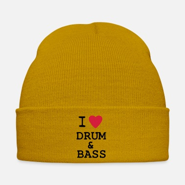 I love drum and bass - Bonnet