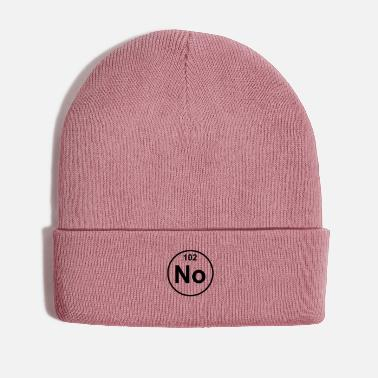 Element Nobelium (No) (element 102) - Winter Hat