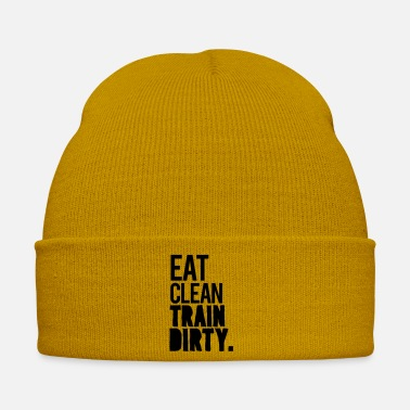 Eat Clean Eat clean train dirty - Winter Hat