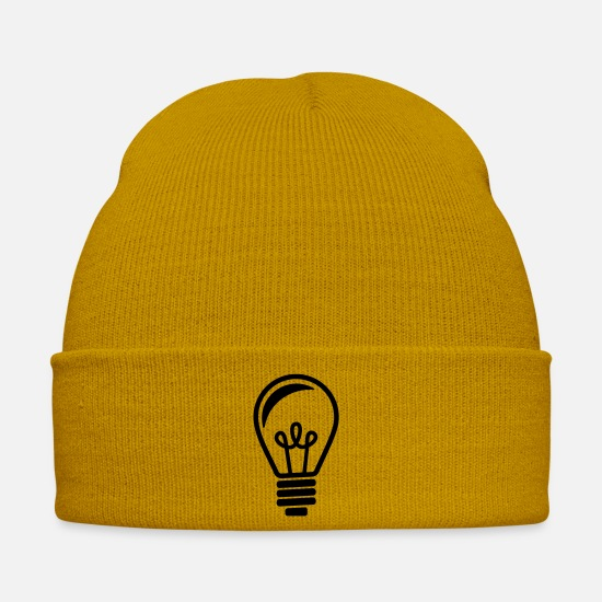 Light Caps & Hats - Bulb - Winter Hat mustard yellow