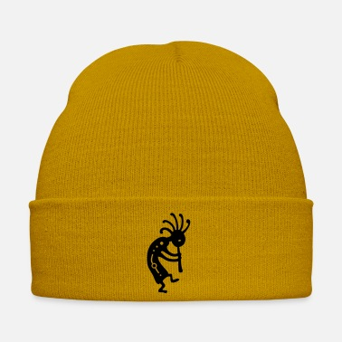 American Indian Indian lucky charm Kokopelli - Winter Hat