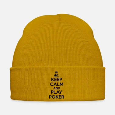 Hold'em Keep calm and play poker - Cappello invernale
