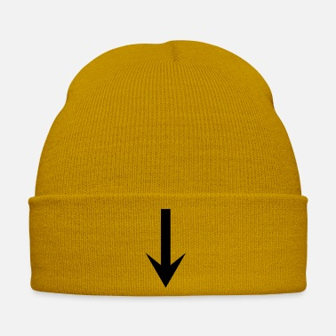 Down arrow down - Winter Hat