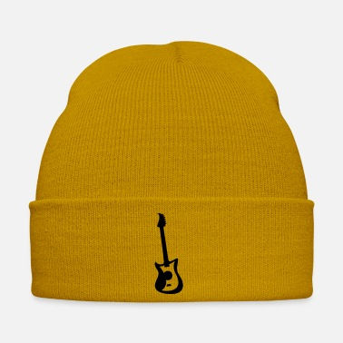 Electric Guitar Cool Electric Guitar Logo - Winter Hat