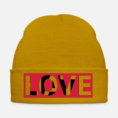Statement Love Statement Hipster Symbol affetto - Cappello invernale