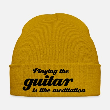 Eguitar playing the Guitar - Winter Hat