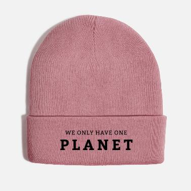 Enviromental We only have one planet Earth - Winter Hat