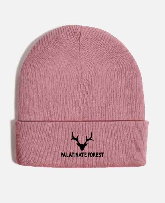 Palatinate Forest Caps & Hats - Wild Palatina deer - Winter Hat dusky pink