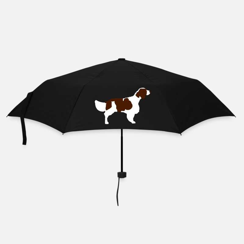 Dog Umbrellas - springerspaniel - Umbrella black