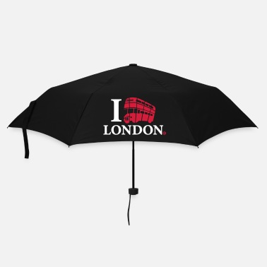 London I Love London DD Bus - Umbrella