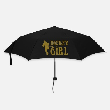 Script Hockey Girl - Field Hockey - Umbrella