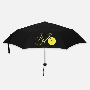 Cycling bike singlespeed fixie bicycle - Umbrella